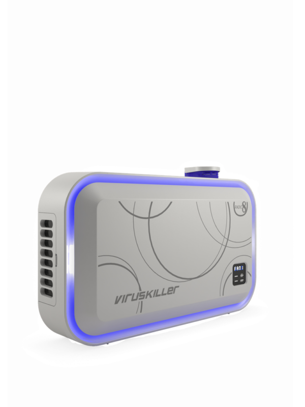 Viruskiller VK Blue – Air Purifier & Steriliser Equipment Machines | Radic8