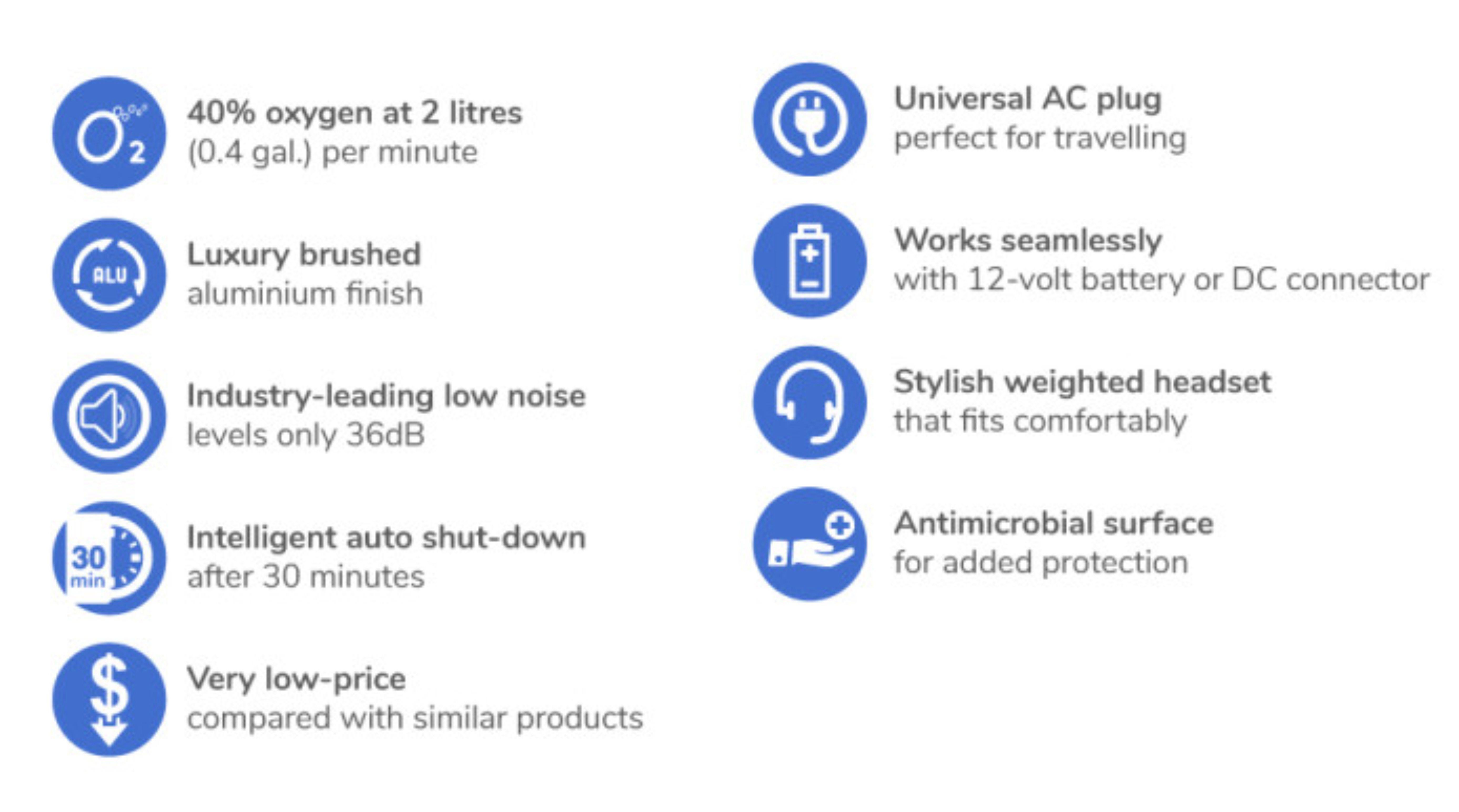 InBair 02 Oxygen Concentrator - Radic 8